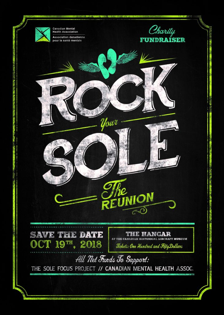 Rock Your Sole II Save the Date