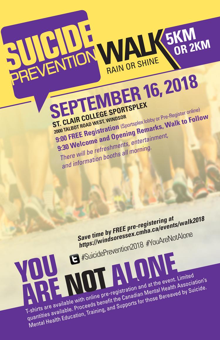 Suicide Prevention Walk