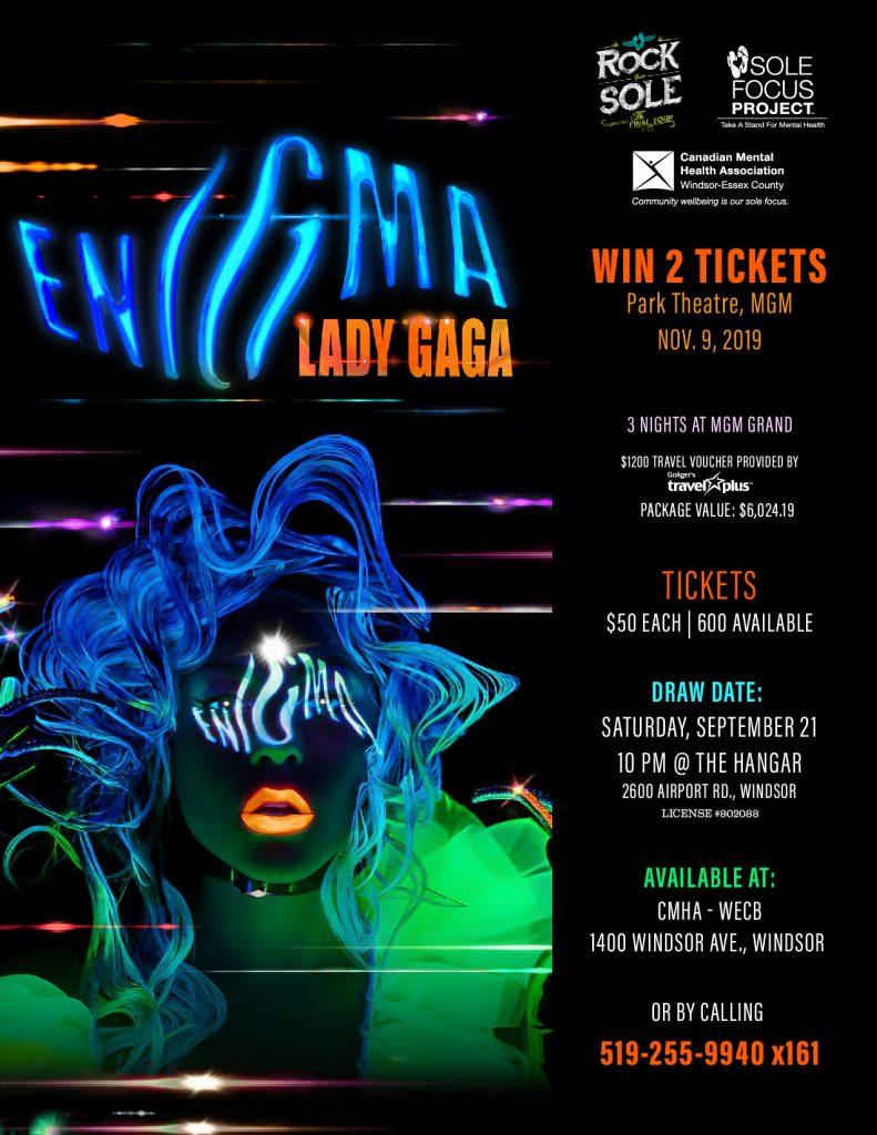 Lady Gaga Raffle