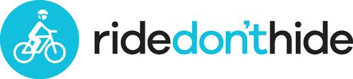 Ride Don't Hide logo